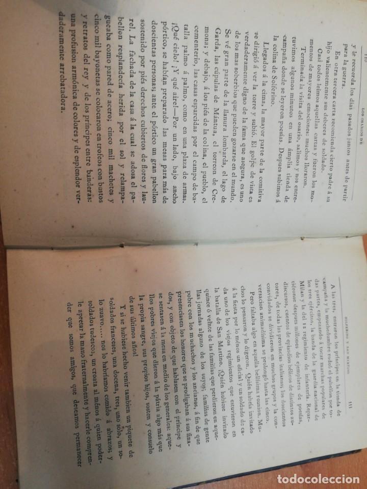 Libros antiguos: Edmundo de Amicis. Recuerdos de 1870-1871. Madrid, 1883 - Foto 3 - 171593544