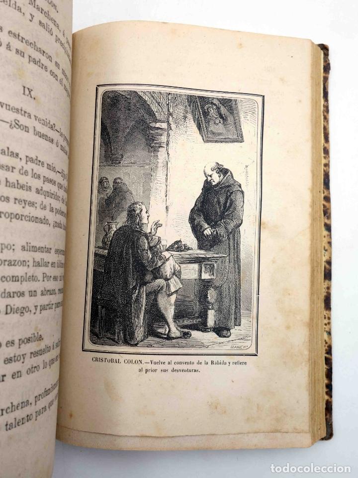 Libros antiguos: CRISTOBAL COLÓN. DESCUBRIMIENTO DE LAS AMÉRICAS TOMO 1 (M. Alfonso De Lamartine) Urbano Manini, 1870 - Foto 10 - 171857597