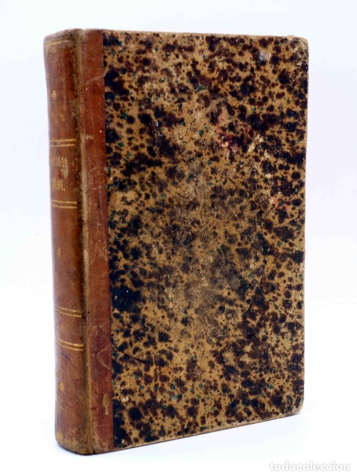 CRISTOBAL COLÓN. DESCUBRIMIENTO DE LAS AMÉRICAS TOMO 1 (M. ALFONSO DE LAMARTINE) URBANO MANINI, 1870 (Libros Antiguos, Raros y Curiosos - Biografías )