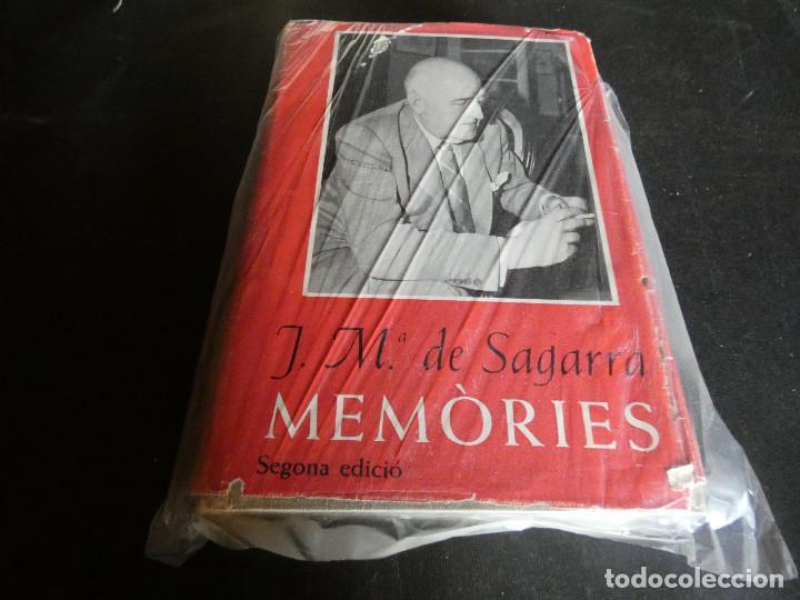 JM DE SAGARRA MEMORIES, GRUESO LIBRO EN CATALAN MUY BUEN ESTADO SEGUNDA EDICION (Libros Antiguos, Raros y Curiosos - Biografías )