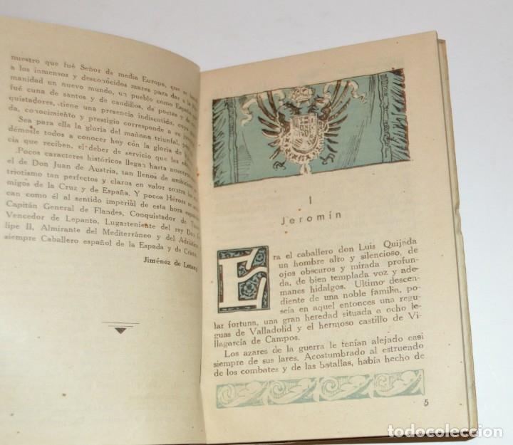 Libros antiguos: D. JUAN DE AUSTRIA - COLECCION IMPERIO - SANTIAGO VIVES - 1942 - ILUSTRA BECQUER - PORTADA RIERA - Foto 4 - 172849337