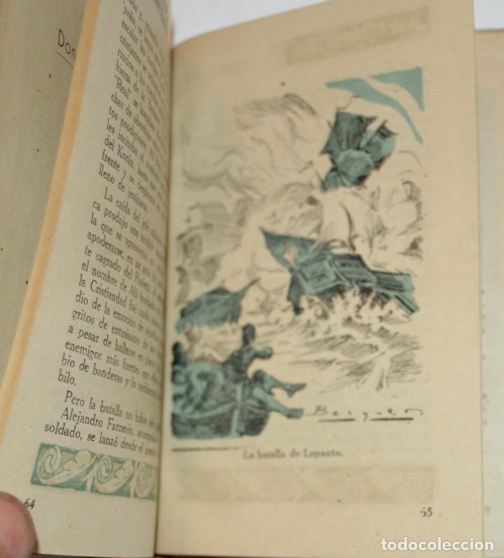 Libros antiguos: D. JUAN DE AUSTRIA - COLECCION IMPERIO - SANTIAGO VIVES - 1942 - ILUSTRA BECQUER - PORTADA RIERA - Foto 5 - 172849337