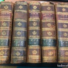 Libros antiguos: 5 TOMOS LIBROS LA VIDA DE GEORGE WASHINGTON AÑO 1807 - THE LIFE OF GEORGE WASHINGTON. Lote 173011953