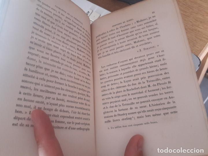 Libros antiguos: Charlotte de la Trémoille comtesse de Derby, Madame de Witt. Editeur: Didier - Année dédition:1870 - Foto 4 - 173133228