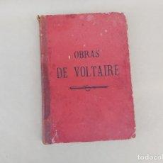 Libros antiguos: OBRAS COMPLETAS DE VOLTAIRE INTRODUCCION DE VICTOR HUGO. Lote 175634164