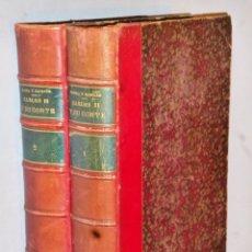 Libros antiguos: CARLOS II Y SU CORTE. ENSAYO DE RECONSTRUCCIÓN BIOGRÁFICA. 2 TOMOS.. Lote 175816922