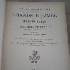Libros antiguos: GRANDS HOMMES, SIMEON. LIBRAIRIE FURNE . Lote 175818982