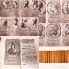 Libros antiguos: LES VIES DES HOMMES ILUSTRES DE PLUTARQUE (PLUTARCO)1778, MAESTRICH, ANTIGUOS Y RAROS SIGLO XVIII. Lote 175947799