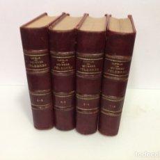 Libros antiguos: GALERIA HISTORICA DE MUJERES CELEBRES POR DON EMILIO CASTELAR 8 TOMOS 1886. Lote 176313008