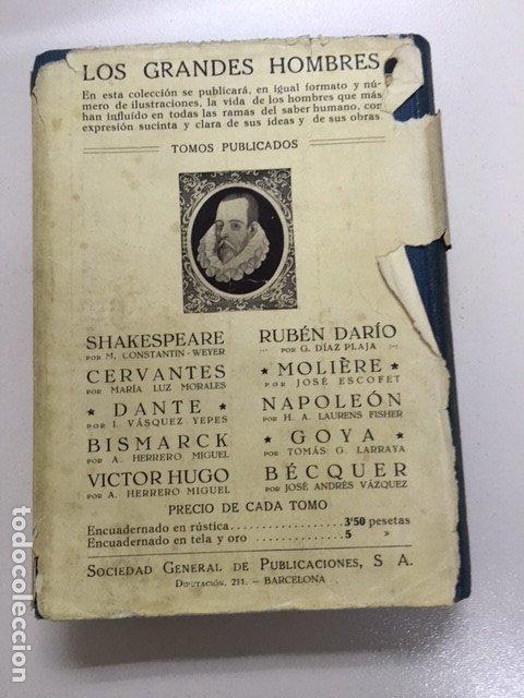 Libros antiguos: Napoleón de Herbert Albert Laurens Fisher - Colección Grandes Hombres - Foto 3 - 177669312