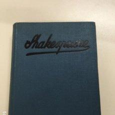 Libros antiguos: SHAKESPEARE DE M. CONSTANTIN WEYER - COLECCIÓN GRANDES HOMBRES. Lote 177669674