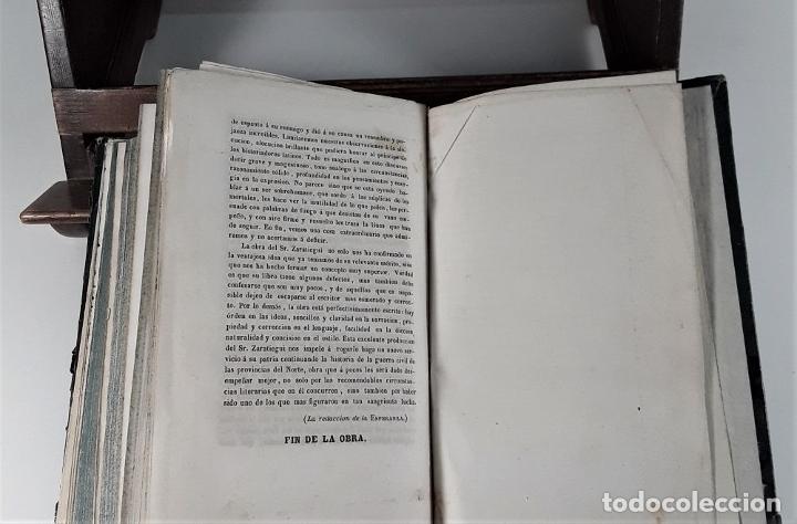 Libros antiguos: VIDA Y HECHOS DE DON TOMÁS DE ZUMALACARREGUI. J. A. ZARATIEGUI. MADRID. 1845. - Foto 8 - 178033055
