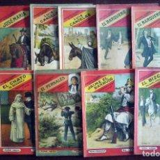 Livres anciens: BANDIDOS CÉLEBRES DE ESPAÑA - 11 NÚMEROS. Lote 178037000