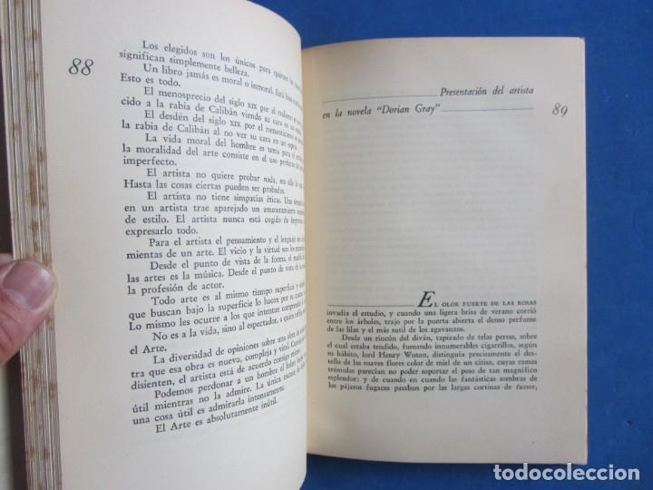 Libros antiguos: Oscar Wilde por Ramón Gómez de la Serna. Primera Edición. Editorial Poseidon 1944 Buenos Aires - Foto 8 - 178964298
