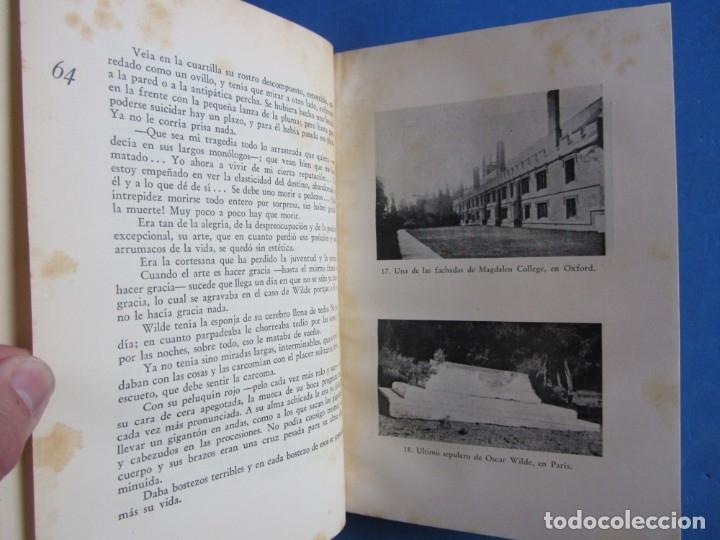 Libros antiguos: Oscar Wilde por Ramón Gómez de la Serna. Primera Edición. Editorial Poseidon 1944 Buenos Aires - Foto 10 - 178964298
