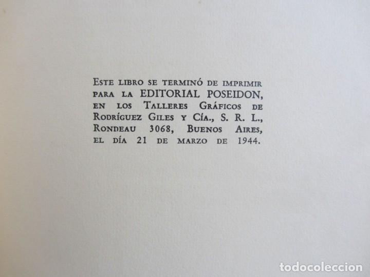Libros antiguos: Oscar Wilde por Ramón Gómez de la Serna. Primera Edición. Editorial Poseidon 1944 Buenos Aires - Foto 11 - 178964298