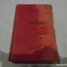 Libros antiguos: NOVELA DE CHARLES DICKENS OLIVERIO TWIST Y TRADUCIDA POR M. MACHADO.. Lote 180216051