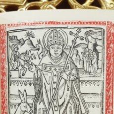 Libros antiguos: VIDA DE SANT HONORAT DE ARLES.FACSIMIL.. Lote 180454178