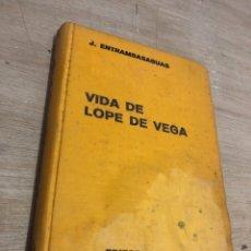 Libros antiguos: VIDA DE LOPE DE VEGA. Lote 180873267