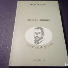 Livros antigos: ALFREDO BRAÑAS RAMÓN MAÍZ CONCIENCIA DE GALICIA EDITORIAL GALAXIA. Lote 182721265