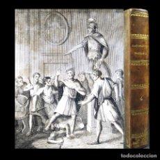Libros antiguos: AÑO 1811 GRECIA ROMA ALEJANDRO MAGNO JULIO CÉSAR PLUTARCO VIDAS PARALELAS HOMBRES ILUSTRES GRABADO. Lote 106969987