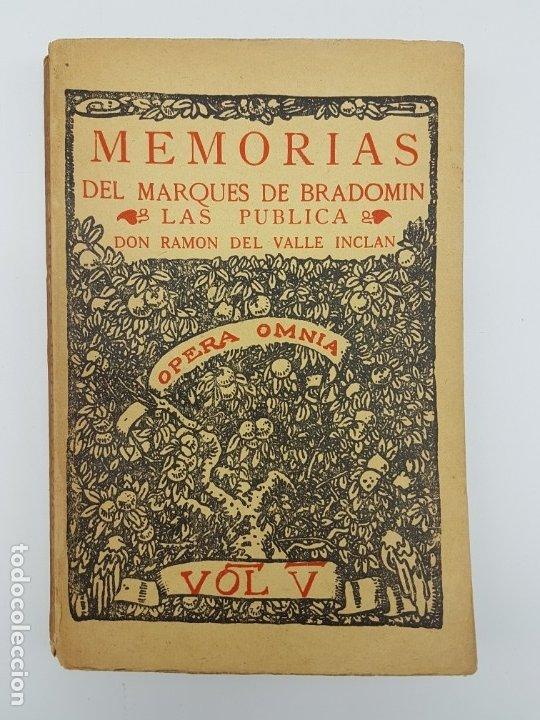 MEMÓRIAS DEL MARQUEZ DE BRADOMIN ( VALLE INCLAN ) SONATA PRIMAVERA V (Libros Antiguos, Raros y Curiosos - Biografías )