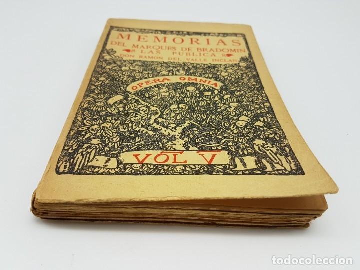 Libros antiguos: MEMÓRIAS DEL MARQUEZ DE BRADOMIN ( VALLE INCLAN ) SONATA PRIMAVERA V - Foto 2 - 219976535