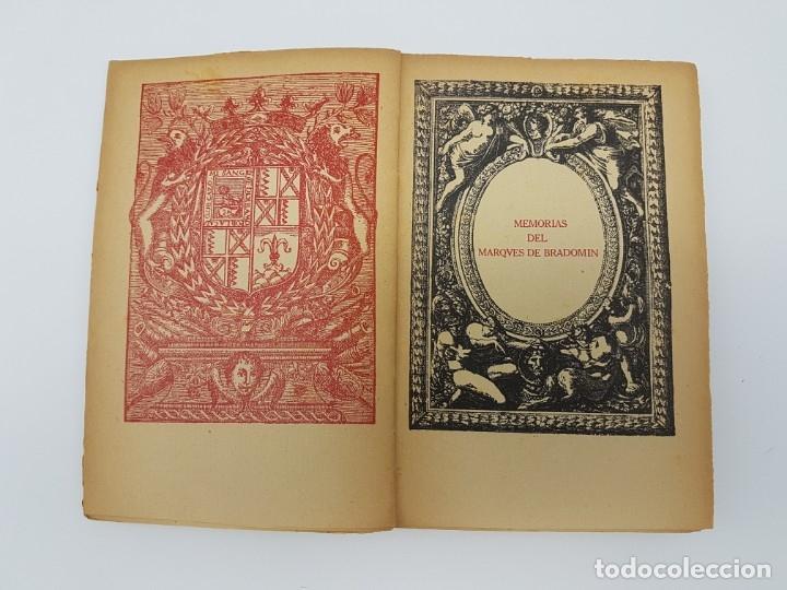 Libros antiguos: MEMÓRIAS DEL MARQUEZ DE BRADOMIN ( VALLE INCLAN ) SONATA PRIMAVERA V - Foto 4 - 219976535