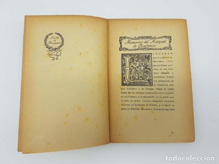 Libros antiguos: MEMÓRIAS DEL MARQUEZ DE BRADOMIN ( VALLE INCLAN ) SONATA PRIMAVERA V - Foto 5 - 219976535