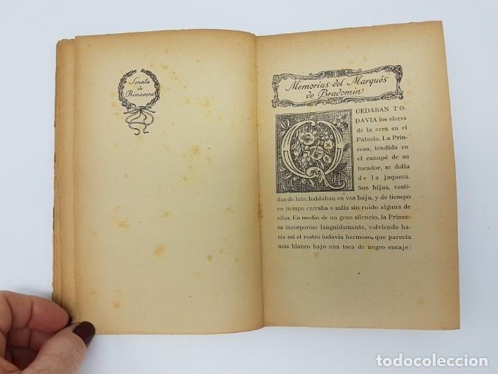 Libros antiguos: MEMÓRIAS DEL MARQUEZ DE BRADOMIN ( VALLE INCLAN ) SONATA PRIMAVERA V - Foto 6 - 219976535