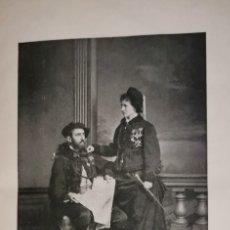 Libros antiguos: BIOGRAFÍA CARLISTA NIEVES BRAGANZA Y BORBON. Lote 183219362