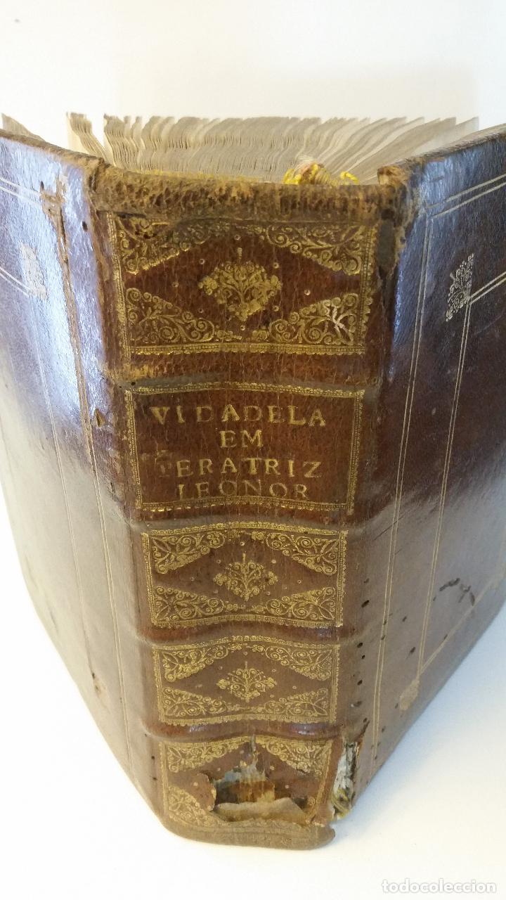 Libros antiguos: 1734 - Vida y virtudes heroicas de la Agustissima emperatriz Leonor Magdalena Theresa - Foto 2 - 183680296