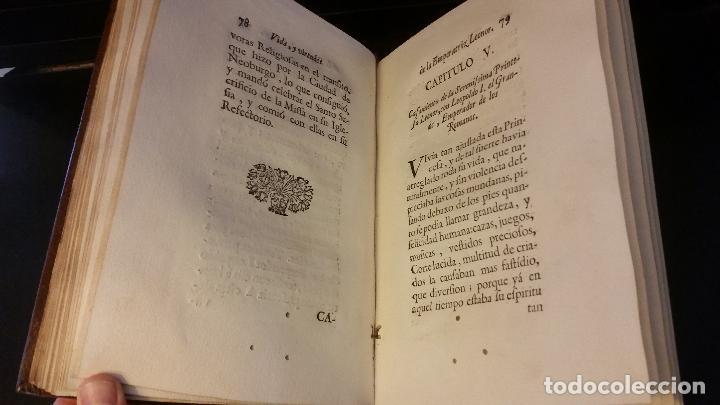 Libros antiguos: 1734 - Vida y virtudes heroicas de la Agustissima emperatriz Leonor Magdalena Theresa - Foto 9 - 183680296