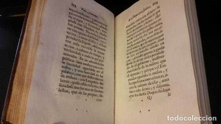 Libros antiguos: 1734 - Vida y virtudes heroicas de la Agustissima emperatriz Leonor Magdalena Theresa - Foto 10 - 183680296