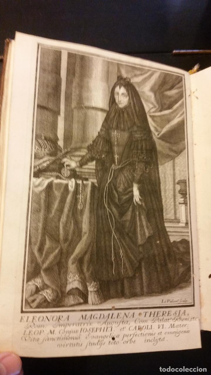 Libros antiguos: 1734 - Vida y virtudes heroicas de la Agustissima emperatriz Leonor Magdalena Theresa - Foto 15 - 183680296