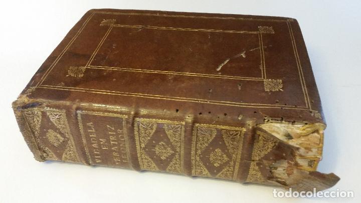 Libros antiguos: 1734 - Vida y virtudes heroicas de la Agustissima emperatriz Leonor Magdalena Theresa - Foto 16 - 183680296