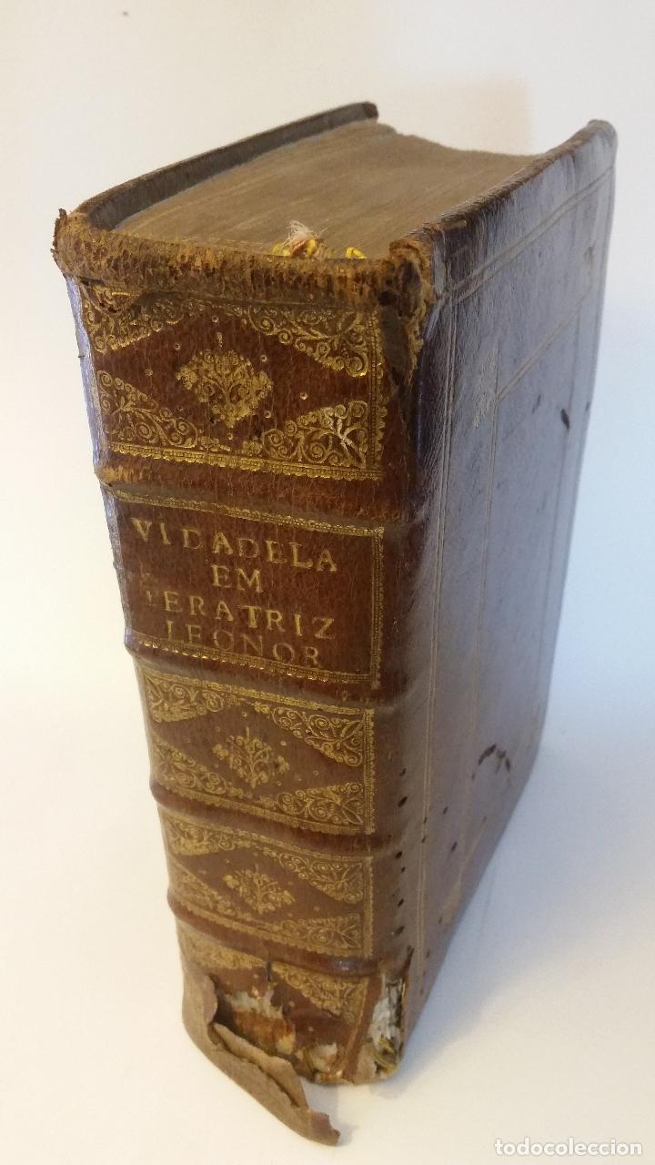 1734 - VIDA Y VIRTUDES HEROICAS DE LA AGUSTISSIMA EMPERATRIZ LEONOR MAGDALENA THERESA (Libros Antiguos, Raros y Curiosos - Biografías )