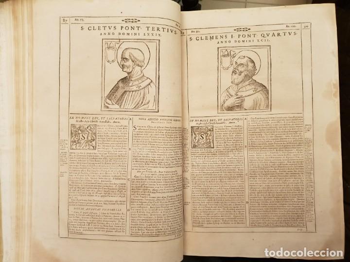Libros antiguos: Ciacconius: Vitae et res gestae Romanorum Pontificum et SRE Cardinalium - Foto 7 - 183745358