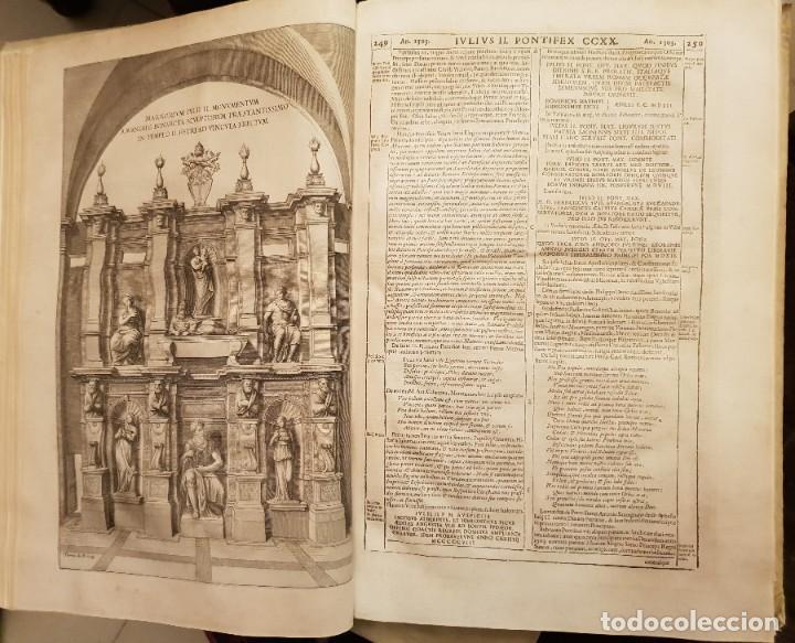 Libros antiguos: Ciacconius: Vitae et res gestae Romanorum Pontificum et SRE Cardinalium - Foto 11 - 183745358