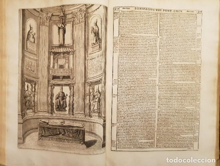 Libros antiguos: Ciacconius: Vitae et res gestae Romanorum Pontificum et SRE Cardinalium - Foto 12 - 183745358