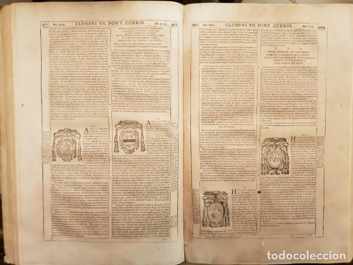 Libros antiguos: Ciacconius: Vitae et res gestae Romanorum Pontificum et SRE Cardinalium - Foto 13 - 183745358