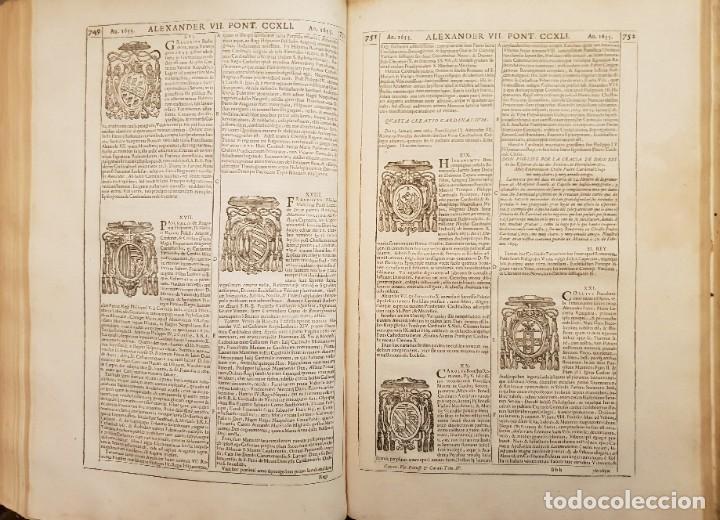 Libros antiguos: Ciacconius: Vitae et res gestae Romanorum Pontificum et SRE Cardinalium - Foto 15 - 183745358
