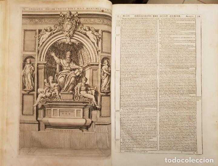 Libros antiguos: Ciacconius: Vitae et res gestae Romanorum Pontificum et SRE Cardinalium - Foto 16 - 183745358