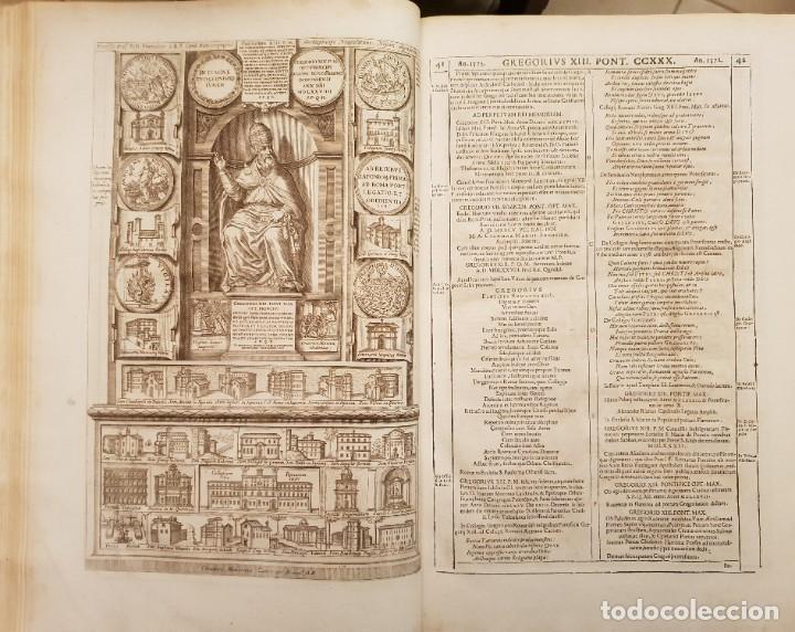 Libros antiguos: Ciacconius: Vitae et res gestae Romanorum Pontificum et SRE Cardinalium - Foto 17 - 183745358