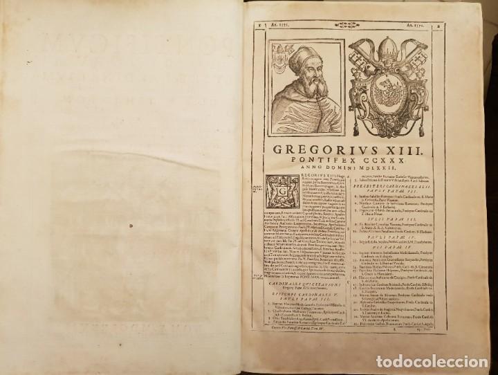 Libros antiguos: Ciacconius: Vitae et res gestae Romanorum Pontificum et SRE Cardinalium - Foto 19 - 183745358
