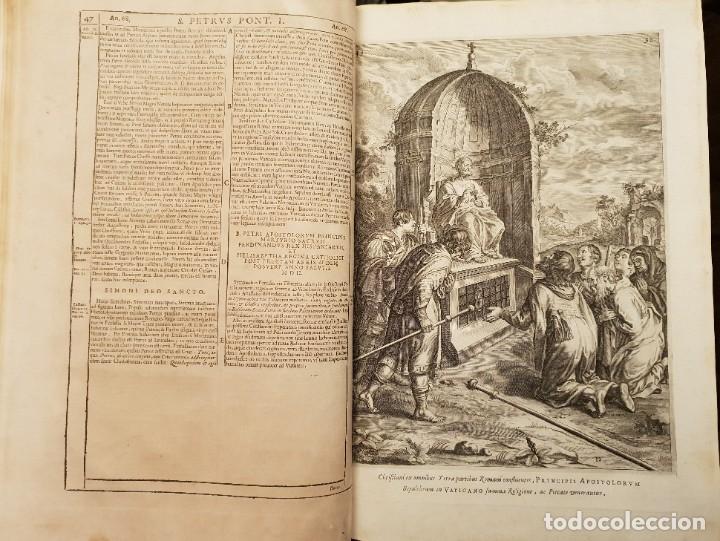 Libros antiguos: Ciacconius: Vitae et res gestae Romanorum Pontificum et SRE Cardinalium - Foto 20 - 183745358