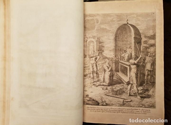 Libros antiguos: Ciacconius: Vitae et res gestae Romanorum Pontificum et SRE Cardinalium - Foto 23 - 183745358