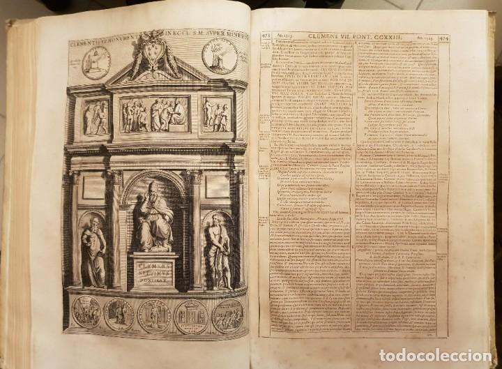 Libros antiguos: Ciacconius: Vitae et res gestae Romanorum Pontificum et SRE Cardinalium - Foto 25 - 183745358