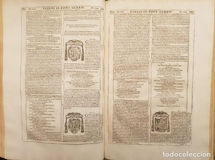 Libros antiguos: Ciacconius: Vitae et res gestae Romanorum Pontificum et SRE Cardinalium - Foto 26 - 183745358