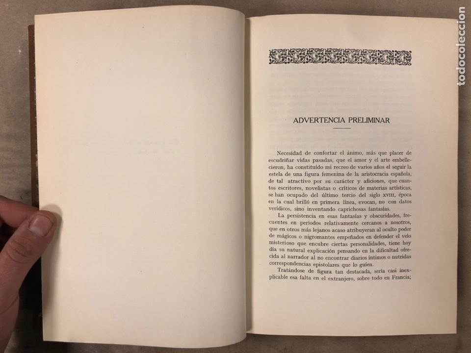 Libros antiguos: LA DUQUESA DE ALBA Y GOYA, ESTUDIO BIOGRÁFICO Y ARTÍSTICO. JOAQUÍN EZQUERRA DEL BAYO. 1927 - Foto 5 - 183746377